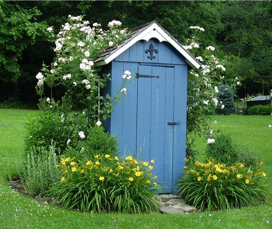 Diy outhouse shed design plans free for Best garden sheds