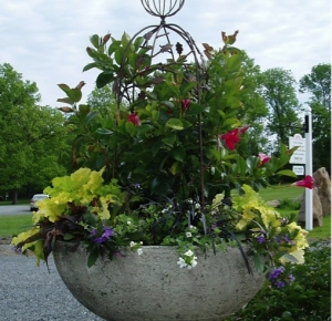 Planter at Mansion Garden