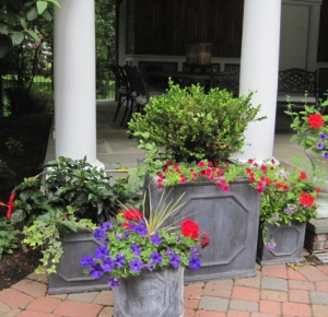 Poolhouse Planters